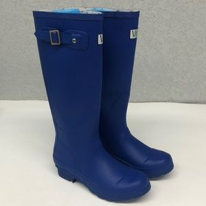 Moneysworth & Best Blue Rain Boots Sz 6 Womens